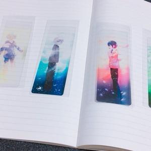 【全4種】クリア栞