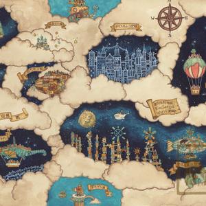 【原画】星空想街の地図
