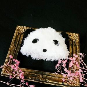 【ぬい用】パンダ帽子