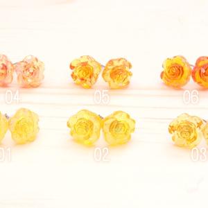 薔薇 ピアス&イヤリング