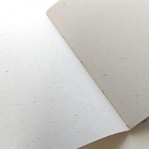 A6ノート  ヒゲ熊さんと山のはなし【紙たくさん!ノート】