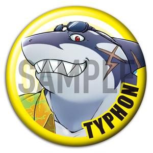 東京放課後サモナーズ 「テュポーン」キャラクター 缶バッジ