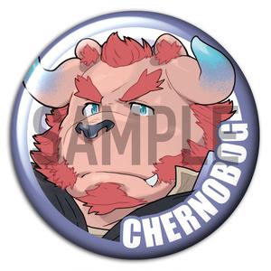 東京放課後サモナーズ 「チェルノボーグ」キャラクター 缶バッジ