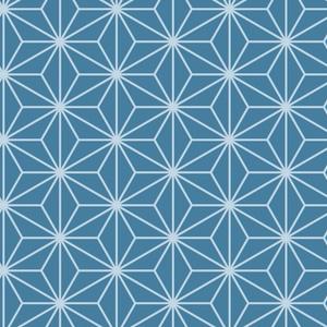 麻の葉パターン素材