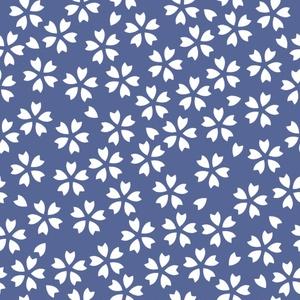 桜パターン素材3