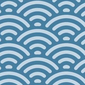 青海波パターン素材2
