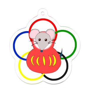 2020ver. くまとたぬき(ネズミ)