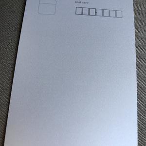 【てぃな】ポストカード《白と黒の魔女》