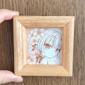 【FUYUKO】ミニ原画①(コピック)