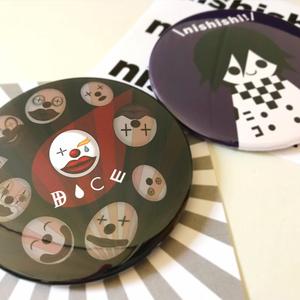 76mmBIGバッチ【DICE】
