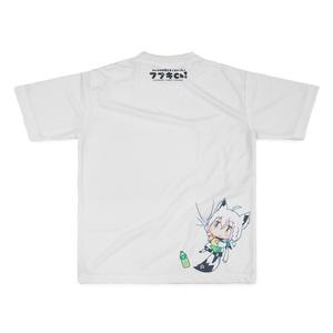 狐じゃい!フルグラフィックTシャツ(L) 白上フブキ