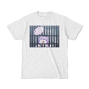 猫又おかゆ「有罪」Tシャツ