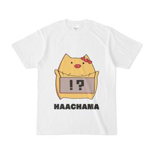 赤井はあと HAACHAMA Tシャツ『白』