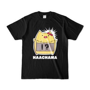 赤井はあと HAACHAMA Tシャツ『黒』