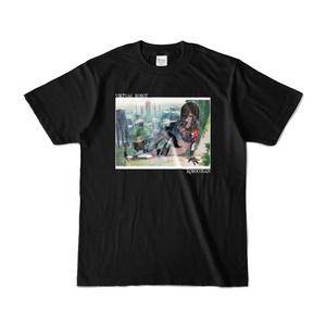 ロボ子さん バーチャルロボットTシャツ「黒」