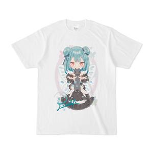潤羽るしあ 蝶の夢Tシャツ「碧」