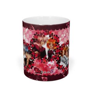 血染めの花マグカップ