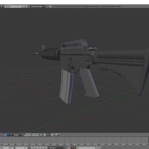 M4A1(パーツ無し)