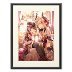 【FATAL12】「洋館に住む悪魔の姉妹」複製画(プリモアート)