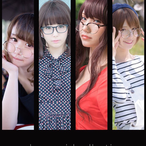 glasses girl collection