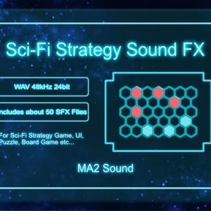 【効果音素材集】Sci-Fi Strategy Sound FX【SF・戦略ゲーム】