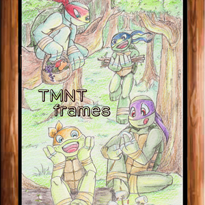 イラストブック「TMNT frames」