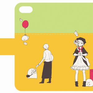 手帳型iphoneケース(5/5s)