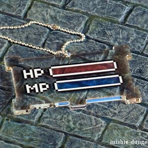 イニシエダンジョン HP&MPゲージ アクリルキーホルダー