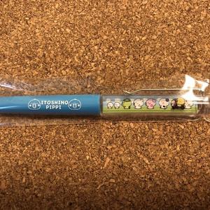 フローティングボールペン【青】