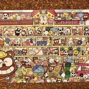 オリジナルイラストポストカード【8枚セット】サービス品