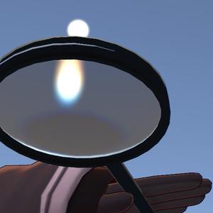 【VRC想定】虫眼鏡