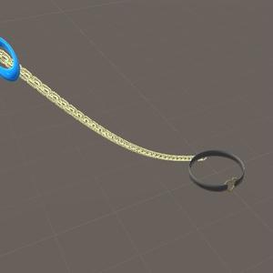 【VRC想定】ロープ(鎖シェーダー)