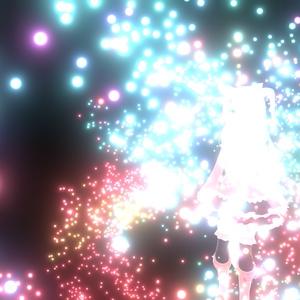【VRChat想定】DanceVFX_ParticleSystem