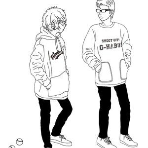 Side by Side トートバック