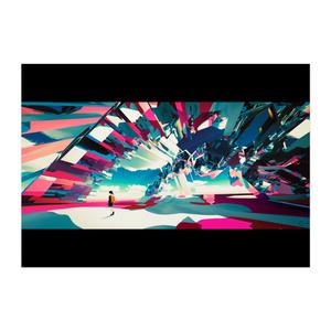 ポスター「虹」