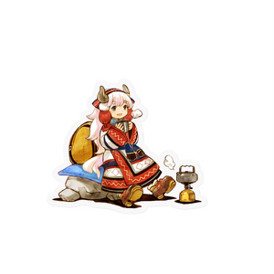 島々ヤク・ステッカー「山コーヒー」 【オンデマンド販売】