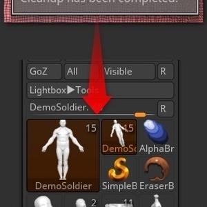 Zbrushのツール操作プラグイン「YT Tool Helper」(サブツールではない)
