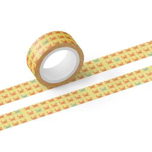 スベスベマンジュウガニのマスキングテープ