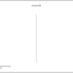 【ポストカード】momo缶 2014winter (送料,税込¥150-)