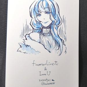 【原画】ポストカードサイズ原画05