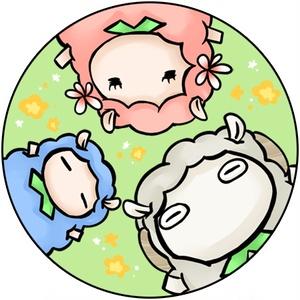 羊ストラップ(集合)