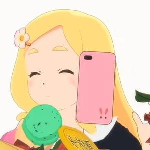 東雲めぐちゃんスマホケース iPhone7 Plus/8 Plus用【光沢仕上げ】