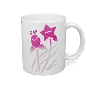 レトログラデ花柄(ピンク)