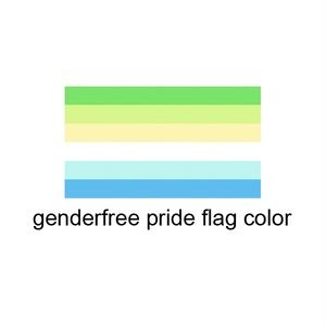 Genderfree 缶バッジ
