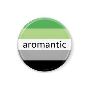 Aロマンティック 缶バッジ