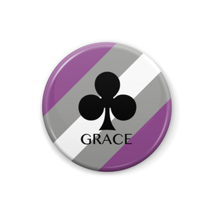 GRACE <グレーAセクシャル> 缶バッジ