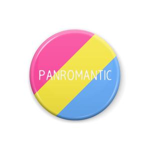 パンロマンティック 缶バッジ