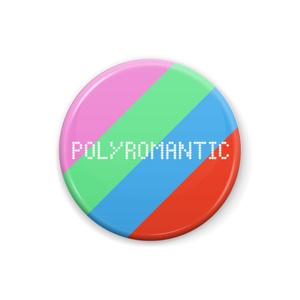 ポリロマンティック 缶バッジ