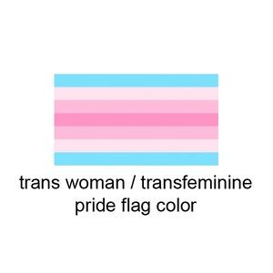 トランスフェミニン 缶バッジ