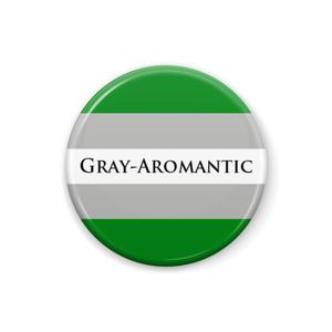 グレーAロマンティック 缶バッジ [revision1]